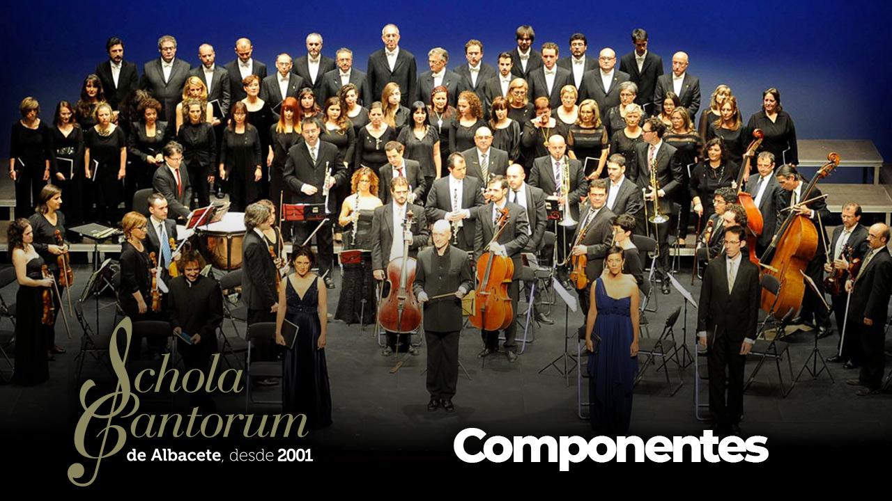 Schola Cantorum de Albacete - Componentes